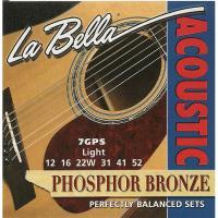 Струны для акустической гитары La Bella 7GPS