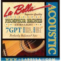 Струны для акустической гитары La Bella 7GPT
