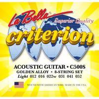 Струны для акустической гитары La Bella C500S
