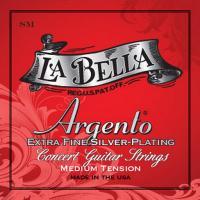 Купить Струны для классической гитары La Bella SM Argento (ASPM)