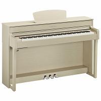 Купить недорого Пианино цифровое YAMAHA CLP-635 WA белый ясень банкетка подарок