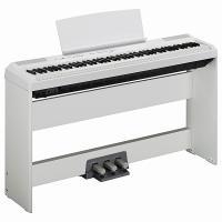 Купить в интернете в Москве Пианино цифровое YAMAHA P-115 WH белого цвета