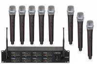 Купить в интернете Радиосистема OPUS UHF-808HH с восьмью ручными микрофонами