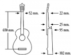 Гитара из Испании ALMANSA 435