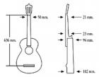 Испанская классическая гитара семь восьмых ALMANSA 401 Senorita (7/8)